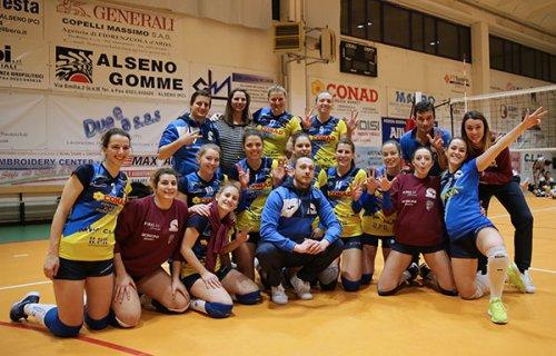 Conad Alsenese - Dolcos volley Busnago 3-0 (25-7, 25-15, 26-24)