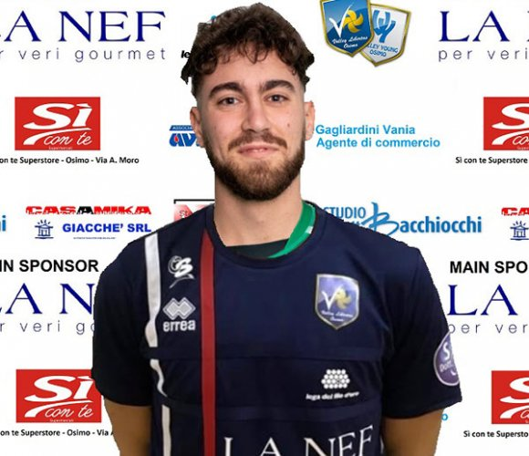 La Nef volley Libertas Osimo si regala Amos Vignaroli