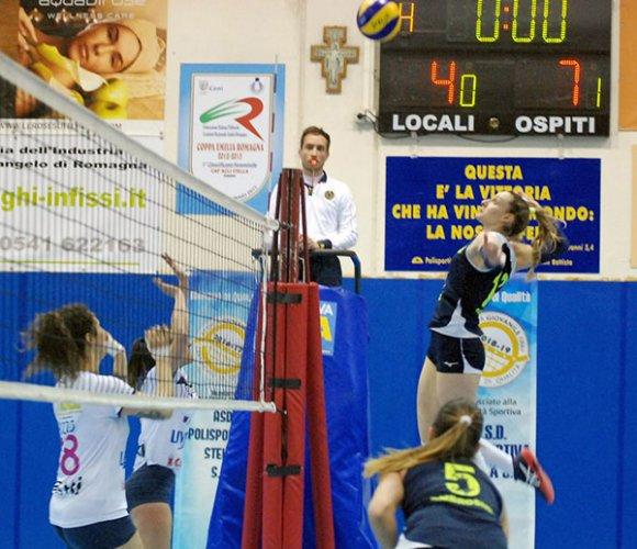 Caf Acli Stella Rimini – Liverani Lugo RA 0-3 (20-25, 22-25, 22-25)