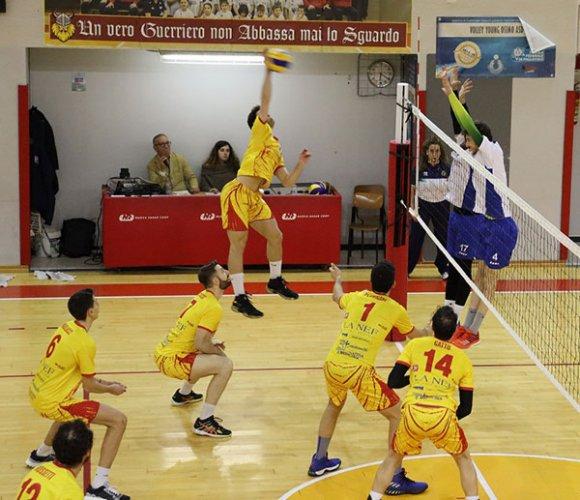 La Nef Osimo - Volleyball Lucera 2-3