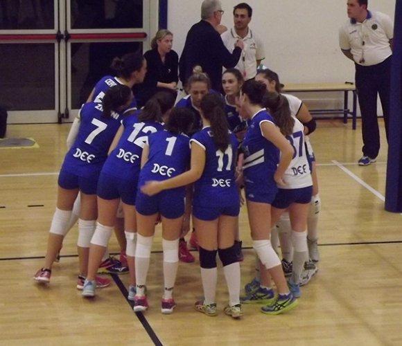 Auxilia finance magreta volley - calanca cesare bo 0-3