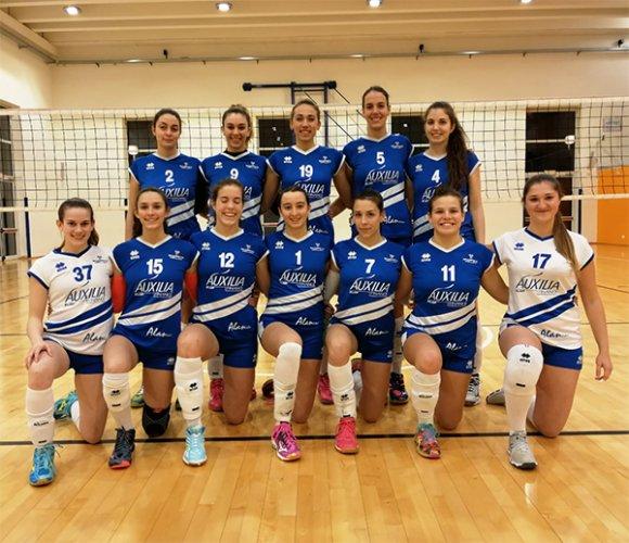 Auxilia finance Magreta volley - Anzola volley  1-3