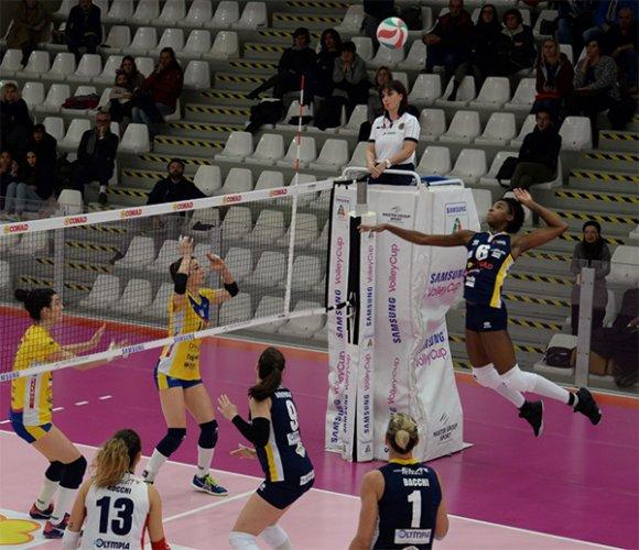 Conad Olimpia Teodora Ravenna – Delta Informatica Trentino: 2-3