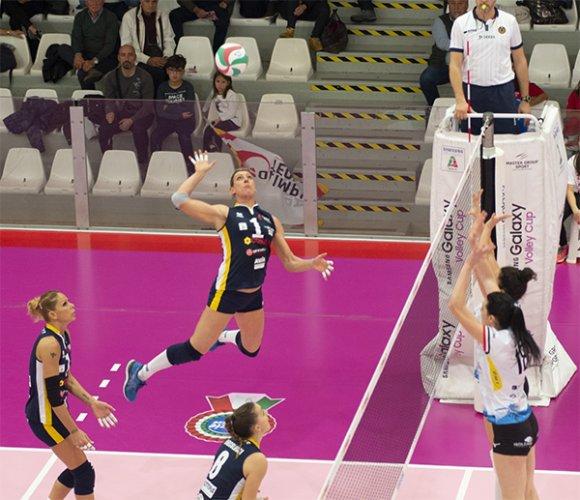 Ottavi di finale di coppa italia di Serie A2 femminile