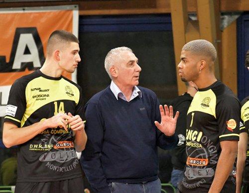 La Canottieri Ongina saluta e ringrazia coach Mauro Bartolomeo