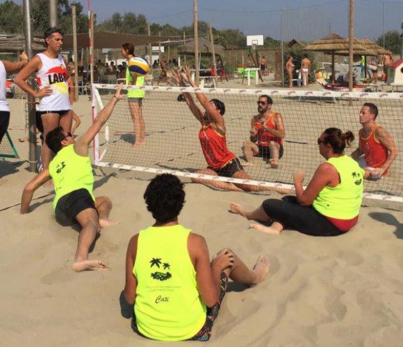 Al Coya Beach buon successo del torneo di beach sitting volley