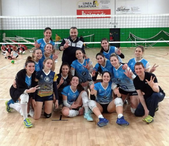Bedizzole Volley-Nure Volley 0-3 (22-25, 22-25, 20-25)