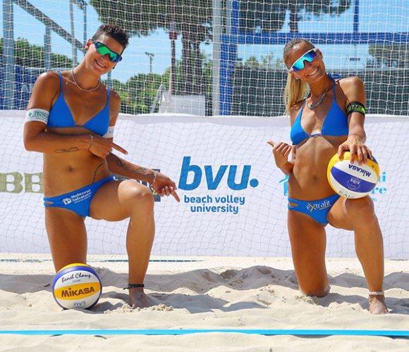 Beach Volley, Leonardi-Benazzi in corsa per lo scudetto femminile