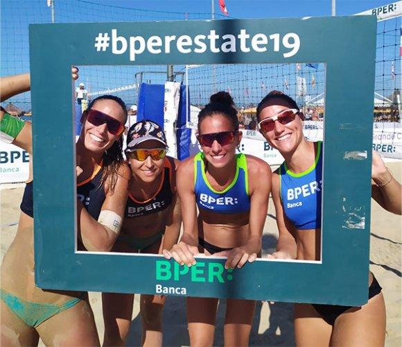 Allegretti/Lantignotti e Alfieri/Sacripanti, firme d'autore sull'ultima tappa delBPER Beach Volley Tour 2019