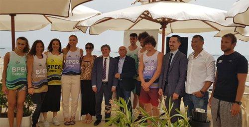 Presentato ufficialmente a Cesenatico il BPER beach volley tour 2019