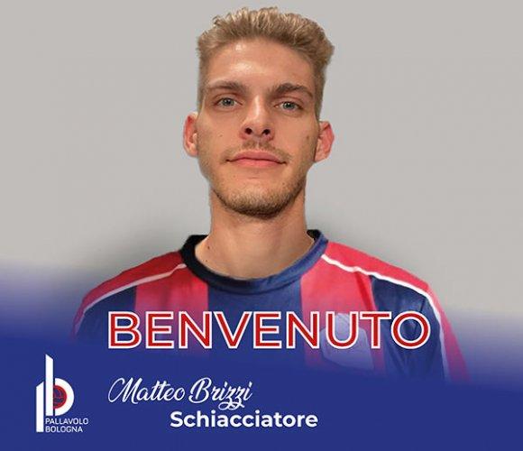 Lo schiacciatore Matteo Brizzi è un giocatore della GEETIT Pallavolo Bologna