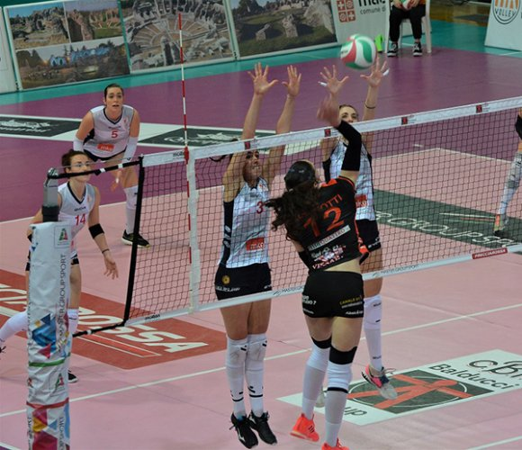 CBF Balducci HR Macerata - volley Soverato 3-1