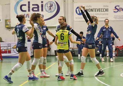 CSI clai imola-blu volley quarrata 3-0