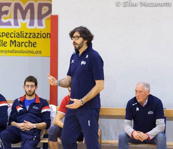 Coach Roberto Masciarelli ancora alla guida de la nef osimo