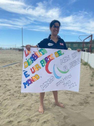 Csi Clai Stagione  - Carmela Leguizamon: il Sitting Volley come progetto di inclusione