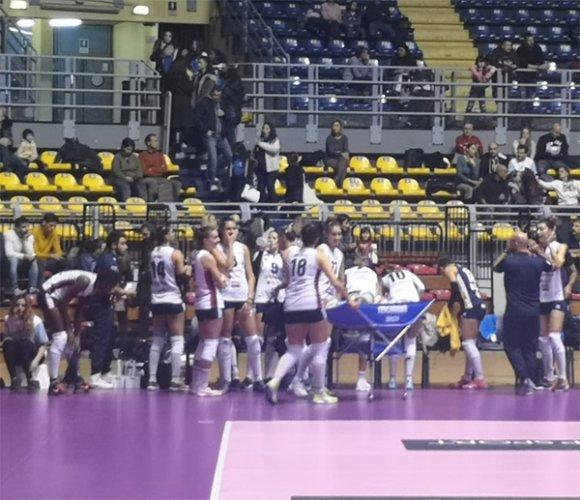 Barricalla CUS Torino - Conad Olimpia Teodora Ravenna: 3-0 (25-20, 26-24, 25-22)