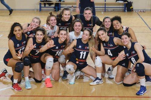 Conad Olimpia Teodora Ravenna vs Rubierese Gramsci Pool Volley 3-1