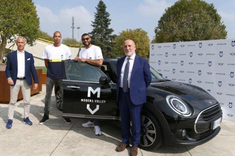 Modena Volley : Le parole di  Earvin Ngapet  e  Nimir Abdel-Aziz alla presentazione