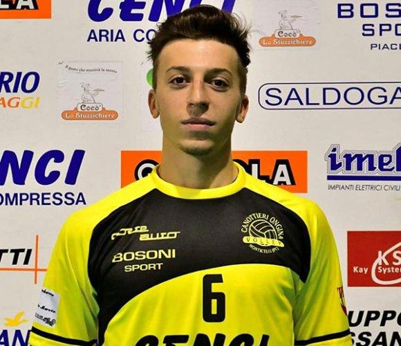 La Canottieri Ongina conferma il libero Corrado Rossi