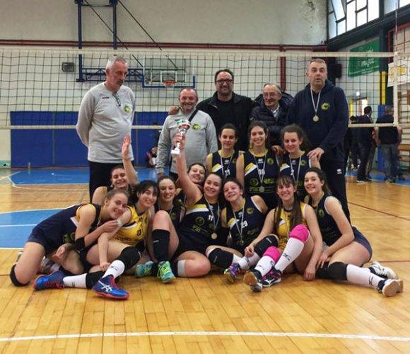 Il Cral Volley Mattei si riconferma sul trono provinciale ravennate