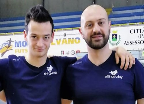 """Sitting volley: chiamata """"azzurra"""" per Ripani e Crocetti"""