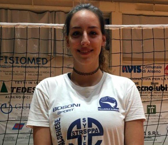 Maria Chiara D'Adamo nuova centrale della Conad Alsenese