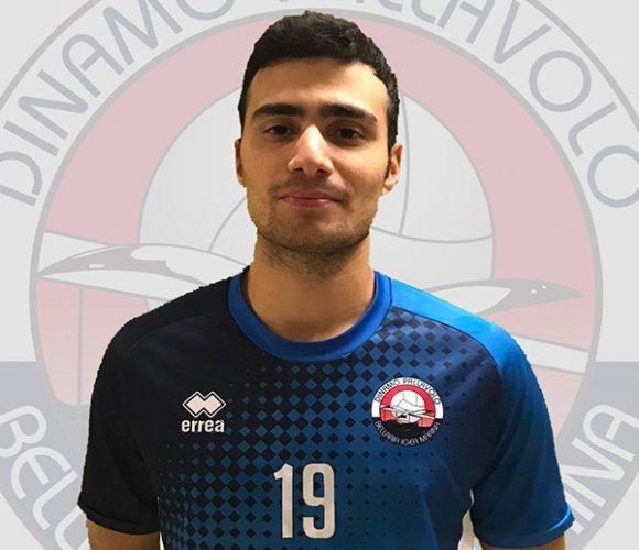 Damiano Spiga nel roster della Dinamo Pallavolo
