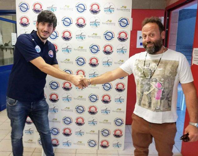 Sarà Daniel Balzani a guidare la Serie C dell'Idea Volley Bellaria