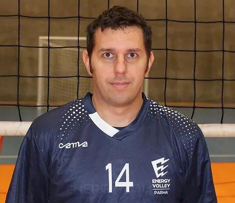 Davide Colombo confermato nel roster della WiMORE Energy Volley Parma