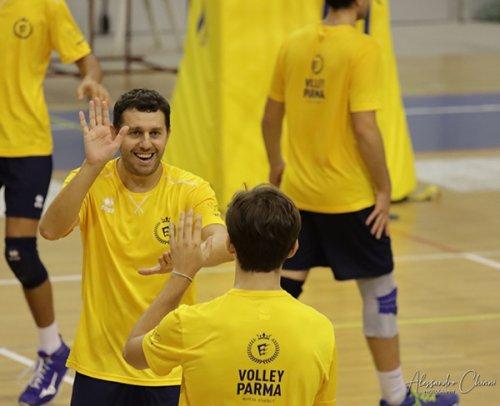 """Colombo (WiMORE Energy Volley Parma) compie 37 anni: """"il regalo? L'ultima promozione.."""""""