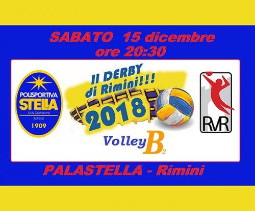 Grande attesa per il derby cittadino CAF ACLI Stella – Emanuel Riviera Rimini