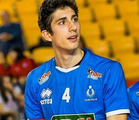 Caneschi è un nuovo giocatore di Gas Sales Bluenergy Volley Piacenza