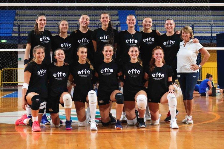 Volley Club B1 femminile, sabato la prima di campionato
