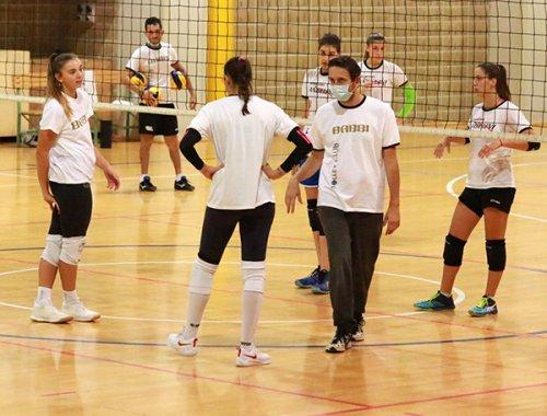 Le squadre del Volley Club Cesena  hanno fatto ritorno al Carisport: