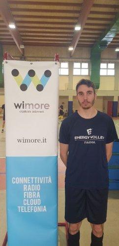 Presentazione Enrico Cavazzoli - Centrale WiMORE Energy Volley Parma