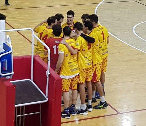 La Nef Osimo - Volley Gioia 3-1 (25-17; 25-10; 13-25, 25-14)