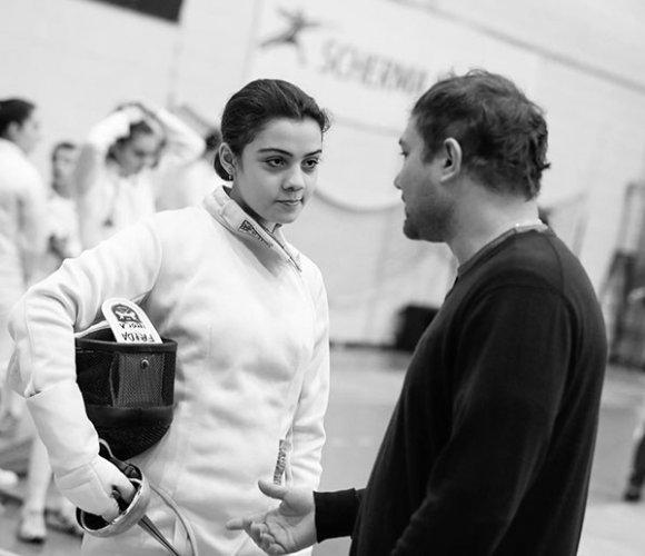 Circolo della scherma Imola : partecipazione tutta al femminile alla seconda prova nazionale cadetti.