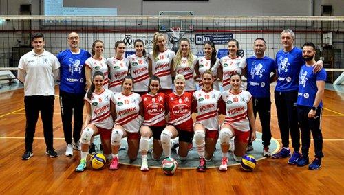 US Rubierese Volley vs Fenix Faenza 0-3 (24-26; 20-25; 16-25)