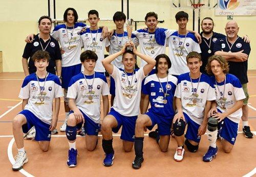 Dinamo Pallavolo Bellaria: Under 15 maschile vicecampione dell'Emilia Romagna