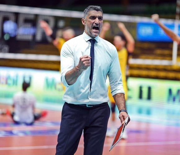 Coach Giani (Modena Volley) : E' ancora tutto da scrivere