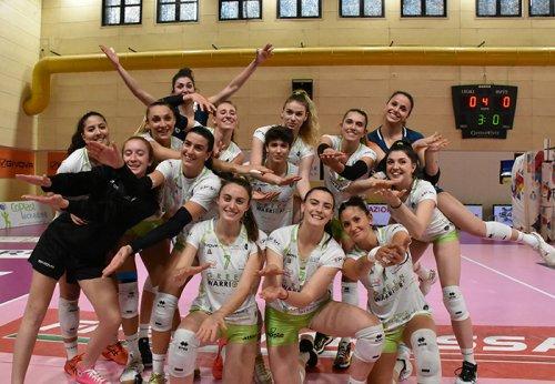 Green Warriors Sassuolo vs Omag San Giovanni in Marignano 3-0