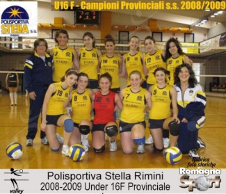 FOTO STORICHE - Under 16 Pol. Stella Rimini 2008-09
