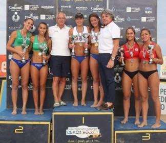 Beach Volley, Calisesi-Balducci ad un passo dallo scudetto under 21
