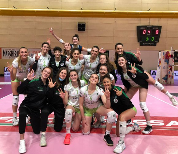 Con carattere la Green Warriors supera 3-0 Cutrofiano
