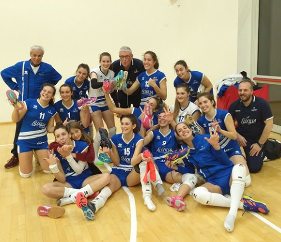 Auxilia Finance Magreta volley - Pol. Masi San Lazzaro 3-0 (27-25 25-22 25-20)