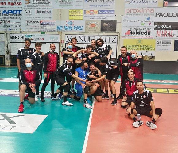 Paoloni Macerata – Bontempi Casa Netoip AN 3-2
