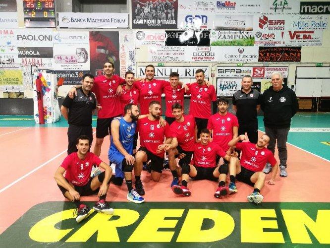 Serie B: Esordio col botto per la Paoloni Macerata che chiude la pratica Civitanova in appena 70 minuti