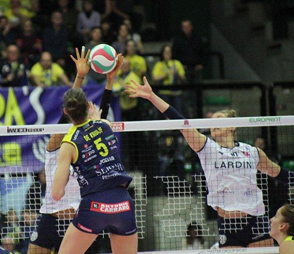 Imoco Conegliano vs Lardini Filottrano 3-1