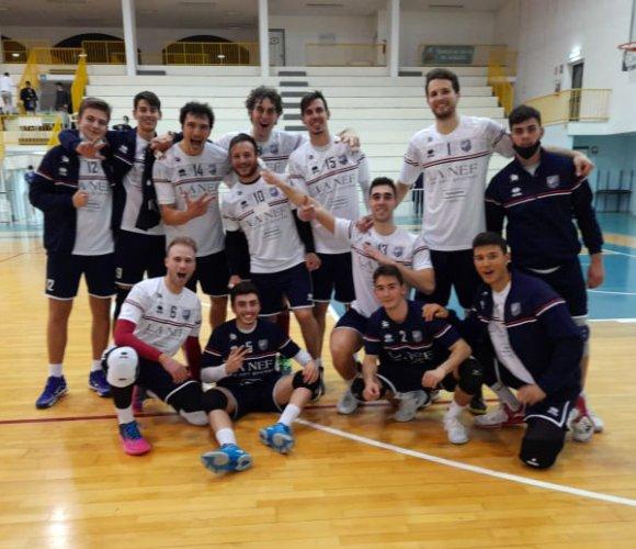 Iseini volley Alba Adriatica – La Nef Osimo 0-3