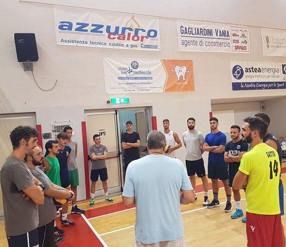 Test per la Nef Osimo contro la volley Macerata
